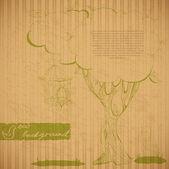 Cardboard eco background — Stock Vector