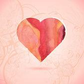 Glow heart — 图库矢量图片