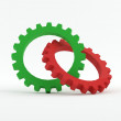 Mechanical Gear — Stock Photo