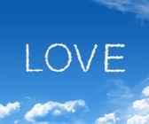 Cloud love — Stock Photo