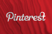 Pinterest flag — Stock Photo