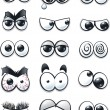 Cartoon Eyes Collection - Stock vektor