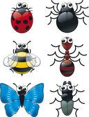 Bug Collection — Stock Vector