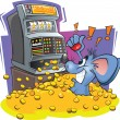 Vector de stock : Jackpot Mouse