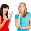 Scolding - Stock Photo