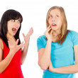 Scolding — Stock Photo