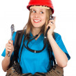 Womwith several professions — Stock Photo #31057051