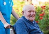 Happy old man — Stock Photo