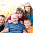 Stock Photo: Family care
