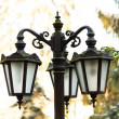 Stylish streetlights — Stock Photo