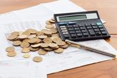 Costi mensili — Foto Stock