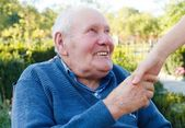 Contented Patient — Stock Photo