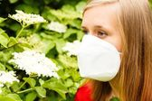 Allergic Woman — Stock Photo