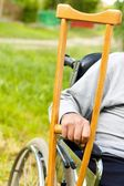 Determined old Man — Stock Photo