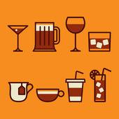Drinks — Stock Vector