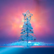 Artificial Christmas tree — Stock Photo #38802409