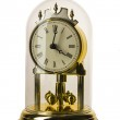 Dial of analog watch gold ornament. It is isolated on a white background — Stock Photo #23539619
