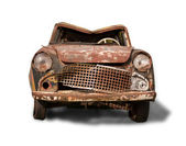 Old rusty car — 图库照片