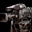 Stock Photo: Professional digital video camera