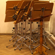 Stock Photo: Music stand
