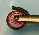 Scooter do pontapé — Fotografia Stock