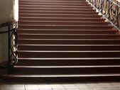 Velha escadaria — Fotografia Stock