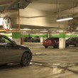 Underground parking with cars. — Stock Photo #40094971
