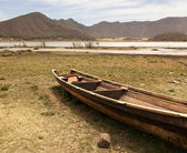 Abandoned boat — Stock Photo