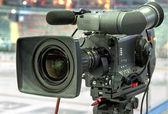 Televizní kamera — Stock fotografie