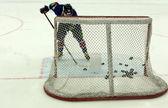 Objetivos del hockey — Foto de Stock