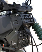 TV Professional studio digital video camera — Stock Photo