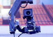 TV Professional studio digital video camera — Stock Photo