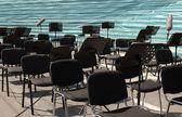 オーケストラのための椅子 — ストック写真