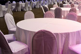 Tables formally set — Foto de Stock
