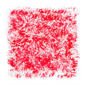 Red Watercolor Patchy Textured Square Frame Border — Stock Photo