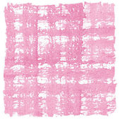 Pink Watercolor Crosshatched Square Background Frame — Stock Photo