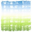 Abstract Watercolor Sky and Grass Square Crosshatched Frame — Stock Photo #39644461