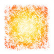 Stock Photo: Sunburst Watercolor Patchy Textured Square Frame Border