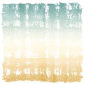 抽象的な水彩画レトロな空と大地正方形のフレーム — ストック写真