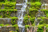 Waterfall on steps — Stock Photo