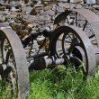 Vintage farm machinery — Stock Photo