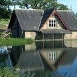 Stock Photo: Boat house on Golf Course in County Kildare Ireland