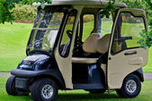 Golf buggy — Stock Photo