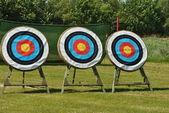 Archery targets — Stock Photo