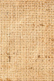 Natural linen texture for the background. with vignette — Stock Photo