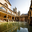 Roman Baths, Bath, England - Stock Photo