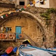 Architectural detail, Cinque Terre, Italy — Stock Photo