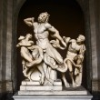 Laocoon and His Sons, Rome - Stock Photo