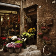 Flower Shop, Italy — Stock Photo