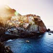 Manarola, Cinque Terre  Italy - Stock Photo